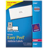 Avery® Easy Peel® Address Labels | www.SelectOfficeProducts.com