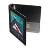 AVE68054 Framed View Binder With One Touch Locking EZD Rings, 1