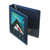 AVE68059 Framed View Binder With One Touch Locking EZD Rings, 1-1/2