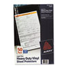 AVE73899 Top-Load Vinyl Sheet Protectors, Heavy Gauge, Legal, Clear, 50/Box AVE 73899