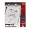 AVE74170 Top-Load Poly Sheet Protectors, Economy Gauge, Letter, Semi-Clear, 150/Box AVE 74170