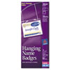 Avery® Neck Hanging-Style, Flexible Badge Holders with Laser/Inkjet Inserts | www.SelectOfficeProducts.com