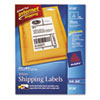 AVE8126 Shipping Labels with TrueBlock Technology, 5-1/2 x 8-1/2, White, 50/Pack AVE 8126