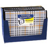 Durable, archival quality polypropylene expanding files.