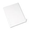 AVE82164 Allstate-Style Legal Side Tab Divider, Title: B, Letter, White, 25/Pack AVE 82164