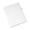AVE82171 Allstate-Style Legal Side Tab Divider, Title: I, Letter, White, 25/Pack AVE 82171