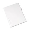 AVE82180 Allstate-Style Legal Side Tab Divider, Title: R, Letter, White, 25/Pack AVE 82180