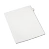 AVE82202 Allstate-Style Legal Side Tab Divider, Title: 4, Letter, White, 25/Pack AVE 82202