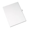 AVE82210 Allstate-Style Legal Side Tab Divider, Title: 12, Letter, White, 25/Pack AVE 82210
