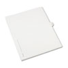 AVE82212 Allstate-Style Legal Side Tab Divider, Title: 14, Letter, White, 25/Pack AVE 82212