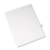 AVE82216 Allstate-Style Legal Side Tab Divider, Title: 18, Letter, White, 25/Pack AVE 82216