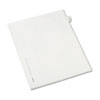 AVE82220 Allstate-Style Legal Side Tab Divider, Title: 22, Letter, White, 25/Pack AVE 82220