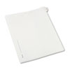 AVE82223 Allstate-Style Legal Side Tab Divider, Title: 25, Letter, White, 25/Pack AVE 82223