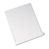 AVE82224 Allstate-Style Legal Side Tab Divider, Title: 26, Letter, White, 25/Pack AVE 82224