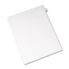 AVE82226 Allstate-Style Legal Side Tab Divider, Title: 28, Letter, White, 25/Pack AVE 82226