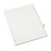 AVE82231 Allstate-Style Legal Side Tab Divider, Title: 33, Letter, White, 25/Pack AVE 82231