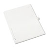 AVE82236 Allstate-Style Legal Side Tab Divider, Title: 38, Letter, White, 25/Pack AVE 82236