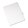 AVE82240 Allstate-Style Legal Side Tab Divider, Title: 42, Letter, White, 25/Pack AVE 82240