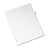 AVE82241 Allstate-Style Legal Side Tab Divider, Title: 43, Letter, White, 25/Pack AVE 82241