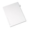 AVE82244 Allstate-Style Legal Side Tab Divider, Title: 46, Letter, White, 25/Pack AVE 82244