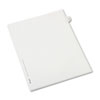 AVE82245 Allstate-Style Legal Side Tab Divider, Title: 47, Letter, White, 25/Pack AVE 82245