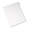 AVE82247 Allstate-Style Legal Side Tab Divider, Title: 49, Letter, White, 25/Pack AVE 82247