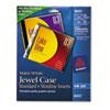 Avery Jewel Case Inserts