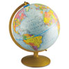 Advantus World Globe w/Blue Oceans