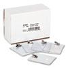 AVT75457 ID Badge Holder, Vertical, 3w x 4h, Clear, 50/Pack AVT 75457