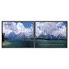 "Advantus ""Goals-Two Pictures"" Framed Motivational Prints"
