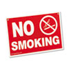 Advantus Economy No Smoking Wall Sign