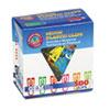 GEMPC0300 Paper Clips, Plastic, Medium Size, Assorted Colors, 500/Box GEM PC0300