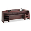 Buddy Products Wood Desk Space Savers