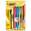 BIC® Brite Liner® Retractable Highlighters | www.SelectOfficeProducts.com