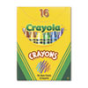 CYO520016 Classic Color Pack Crayons, Tuck Box, 16 Colors/Box CYO 520016