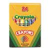 CYO520024 Classic Color Pack Crayons, Tuck Box, 24/Box CYO 520024