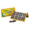 CYO521617 Construction Paper Crayons, Wax, 25 Sets of 16 Colors, 400/Box CYO 521617
