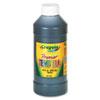 CYO541216051 Premier Tempera Paint, Black, 16 oz CYO 541216051