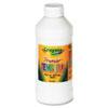 CYO541216053 Premier Tempera Paint, White, 16 oz CYO 541216053