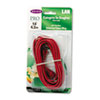 BLKA3L79114REDS CAT5e 10/100 Base-T RJ45 Patch Cable, Snagless, 14 ft., Red BLK A3L79114REDS
