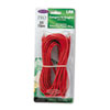 BLKA3L79125REDS CAT5e Snagless Patch Cable, RJ45 Connectors, 25 ft., Red BLK A3L79125REDS
