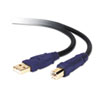 BLKF3U133V10GLD Gold Series High-Speed USB 2.0 Cable, 10 ft., Black/Blue BLK F3U133V10GLD
