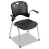 BLT34554 Circulation Series Stacking Chair, Black, 25 x 23-3/4 x 34 BLT 34554