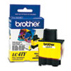 Brother LC41Y Ink, 400 Page-Yield, Yellow