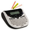 Brother PT-1290 Simply Stylish Home & Office Labeler, 2 Lines, 6-3/10w x 6-1/5d x 2-2/5h
