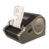 Brother QL-1050 Wide Format PC Label Printer, 69 Labels/Min, 6-7/10w x 8-7/10d x 5-4/5h