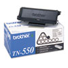 Brother TN550 Toner, 3500 Page-Yield, Black
