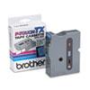 BRTTX5511 TX Tape Cartridge for PT-8000, PT-PC, PT-30/35, 1w, Black on Blue BRT TX5511