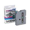 BRTTX7311 TX Tape Cartridge for PT-8000, PT-PC, PT-30/35, 1/2w, Black on Green BRT TX7311