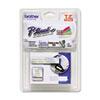 BRTTZEMQ934 TZ Standard Adhesive Laminated Labeling Tape, 1/2